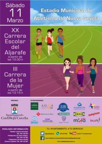 XX Carrera Castilleja de la Cuesta y III Carrera de la mujer