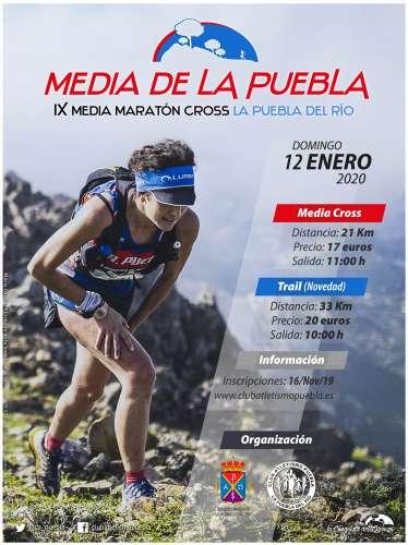 Carrera IX Medía Maratón Cross La Puebla del Río