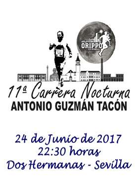 11ª Carrera Nocturna Antonio Guzmán Tacón