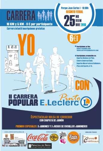 II Carrera Popular E. Leclerc Pinto