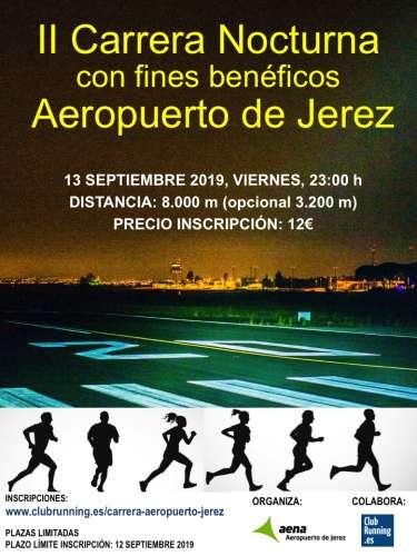 II Carrera Nocturna Aeropuerto de Jerez