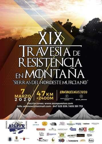 XIX Travesía de Resistencia en Montaña Sierras del Noroeste Murciano La Clásica