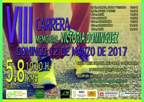 VIII Carrera Memorial Victoria Domínguez