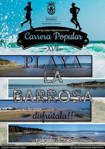 XVII Carrera Popular Playa de la Barrosa