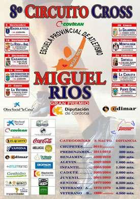 VIII Circuito Cross Escuela Atl. Miguel Ríos Puente Genil