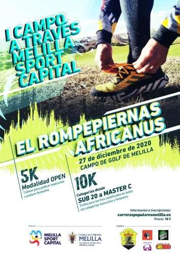 I Campo a Través Melilla Sport Capital