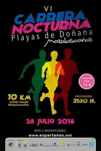 VI Carrera Nocturna Playas de Doñana