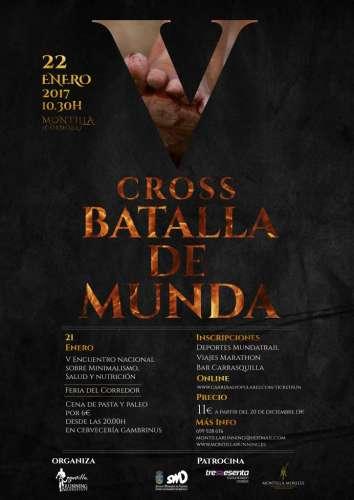 V Cross Batalla de Munda