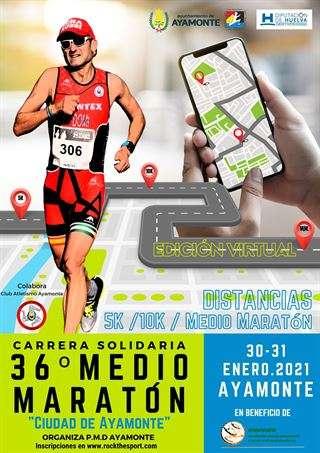 Carrera 36 Medio Maratón Ciudad de Ayamonte