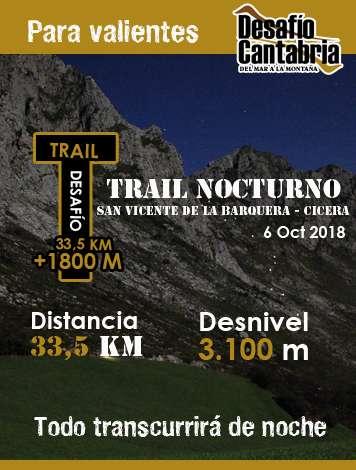 Trail Nocturno Desafío Cantabría