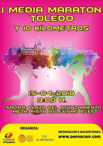I Media Maratón y 10k Toledo