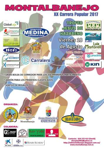 XX Carrera popular de Montalbanejo