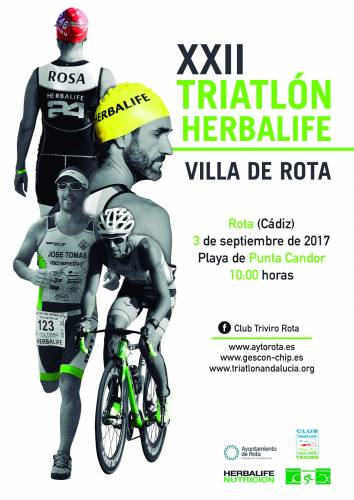 XXII Triatlón Herbalife Villa De Rota