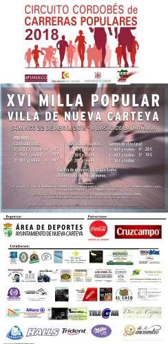 XVI Milla Villa de Nueva Carteya