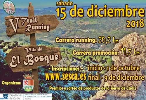V Trail Running Villa de El Bosque