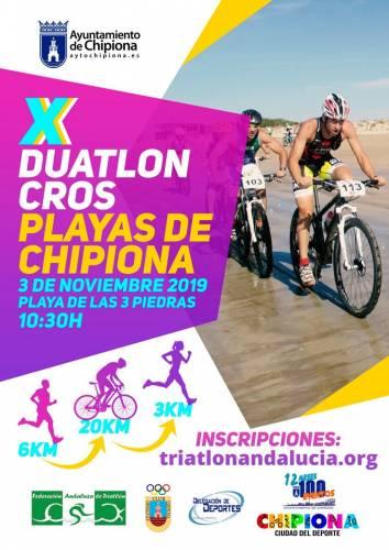 X Duatlón Cros Playas de Chipiona