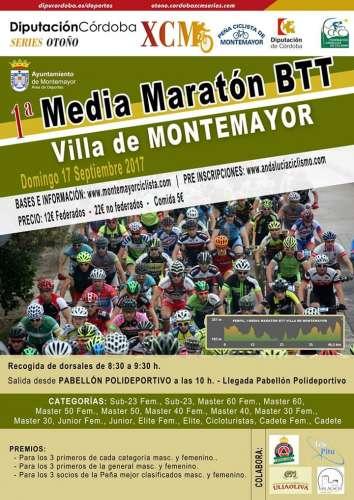I Media Maratón BTT Villa de Montemayor