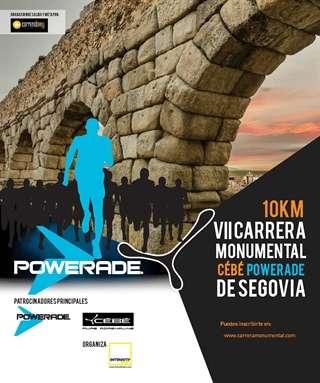 VII Carrera Monumental Cébé-Powerade ciudad de Segovia