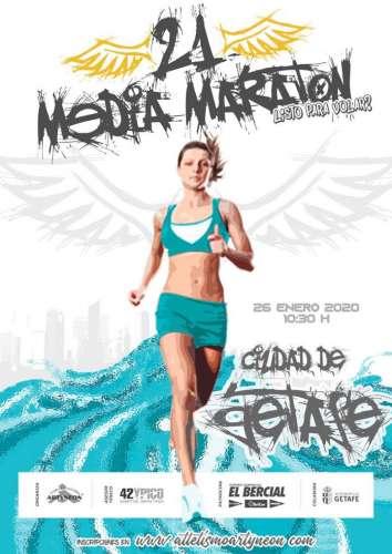 XXI Media Maratón Ciudad de Getafe