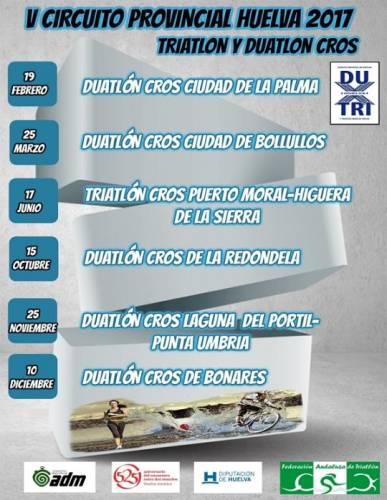 II Triatlón Cros Puerto Moral - Higuera De La Sierra