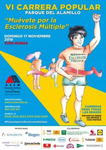 VI Carrera Popular Muévete por la Esclerosis Múltiple