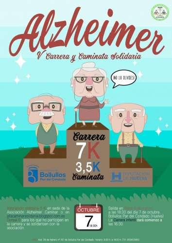 Carrera Alzheimer, V Carrera y Caminata Solidaria