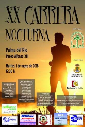 XX Carrera Nocturna Palma del Río