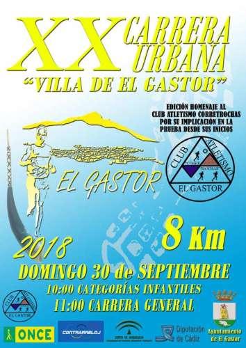XX Carrera Urbana Villa de El Gastor