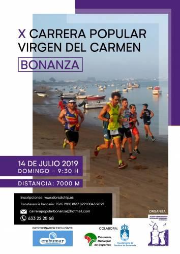 X Carrera Popular Virgen del Carmen de Bonanza