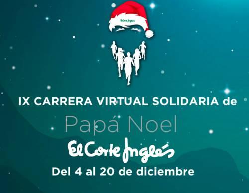 Carrera IX Carrera de Papá Noel El Corte Inglés