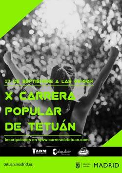 X Carrera Popular de Tetuán