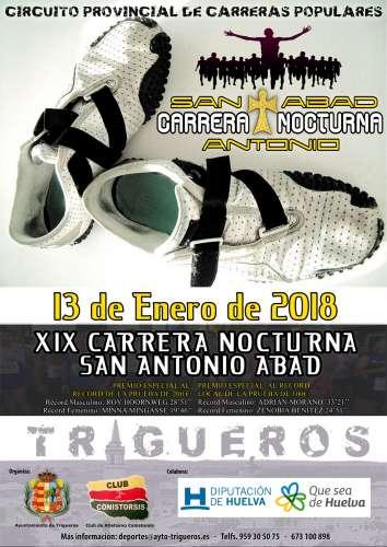 XIX Carrera Nocturna San Antonio de Abad