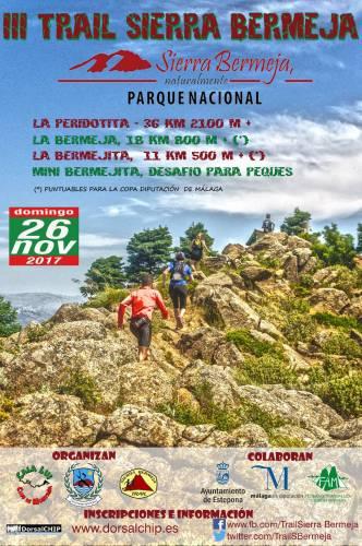 III Trail  Sierra  Bermeja