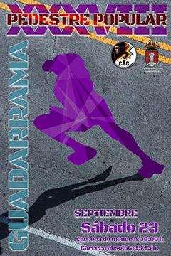 Carrera XXXVIII Carrera Popular Pedestre Guadarrama
