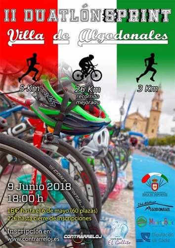 II Duatlón Sprint Villa de Algodonales