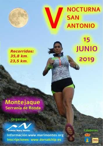 V Nocturna San Antonio de Montejaque