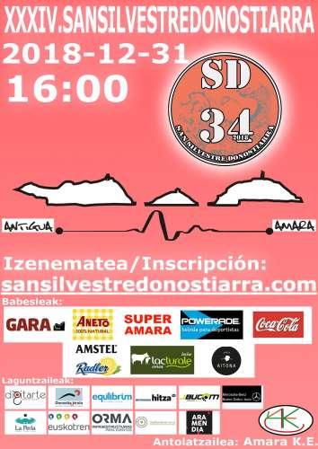 Carrera XXXIV San Silvestre Donostiarra