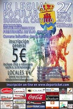 IX Subida al Castillo Fuentidueña de Tajo