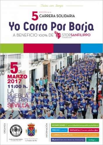 5ª Carrera Solidaria Yo Corro por Borja