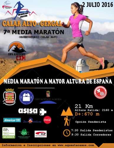 Carrera VII Media Maratón Calar Alto - Gérgal