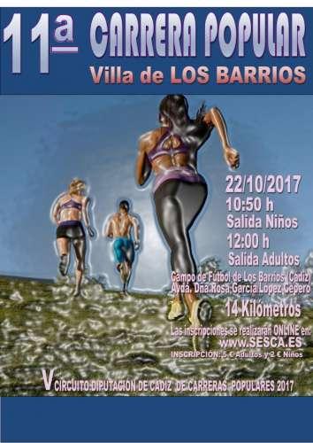 XI Carrera Popular Villa de los Barrios