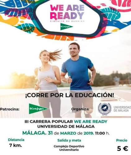 Carrera Popular #WeAreReady Málaga