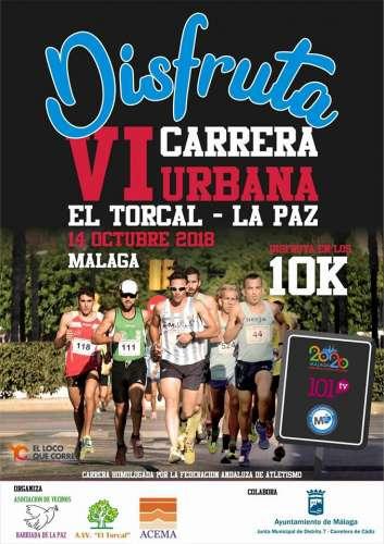 Carrera Popular VI Carrera Urbana El Torcal - La Paz