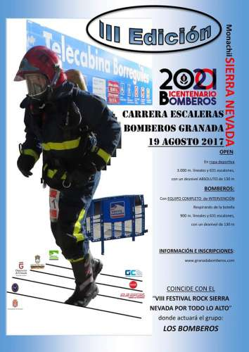 III Carrera Escaleras Bomberos Granada