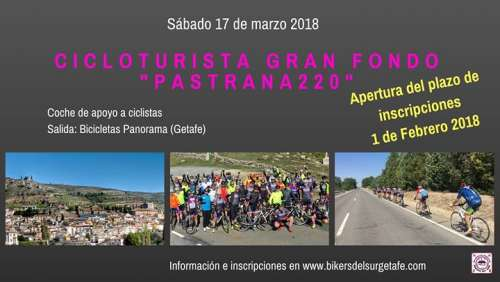 Cicloturista Gran Fondo Pastrana220