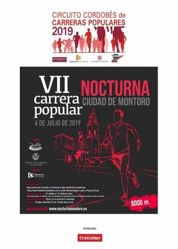 VII Carrera Popular Nocturna Ciudad de Montoro