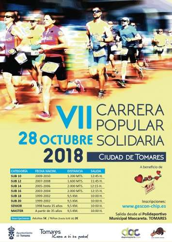 VII Carrera Popular Solidaria de Tomares