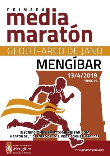 I Media Maratón de Mengíbar