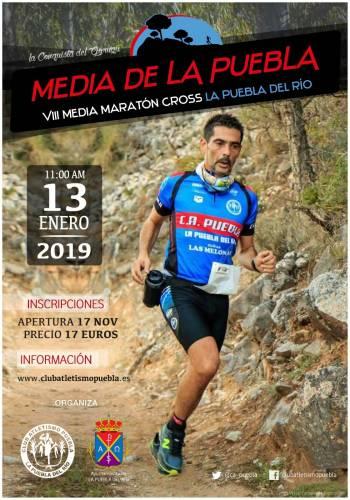 Carrera VIII Medía Maratón Cross La Puebla del Río