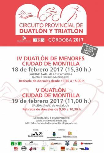 V Duatlón Ciudad De Montilla